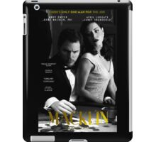 """Macklin"" poster 1 iPad Case/Skin"