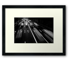 Tokyo, Japan. Framed Print