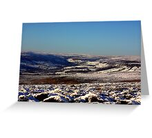 Winter on the Moors Greeting Card