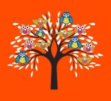 owl tree T-shirt