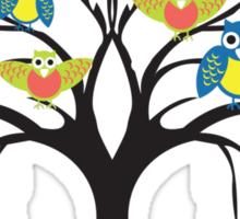 owl tree T-shirt  Sticker