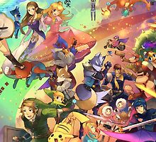 Super Smash Bros by iKaXmarshall