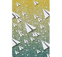 Paper Airplane 109 Photographic Print