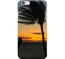 Hawaiian Palm Tree Sunset Silhouette iPhone Case/Skin