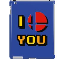 I Love You - Super Smash Bros. iPad Case/Skin