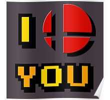 I Love You - Super Smash Bros. Poster