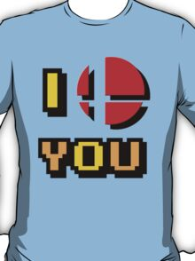 I Love You - Super Smash Bros. T-Shirt