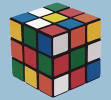 Rubik cube One Piece - Short Sleeve
