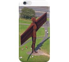 angel of the north iPhone Case/Skin