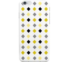 Black and Gold Abstract Pattern iPhone Case/Skin