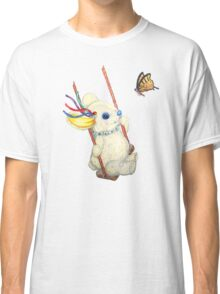 Pooky Swinging with a Butterfly Classic T-Shirt
