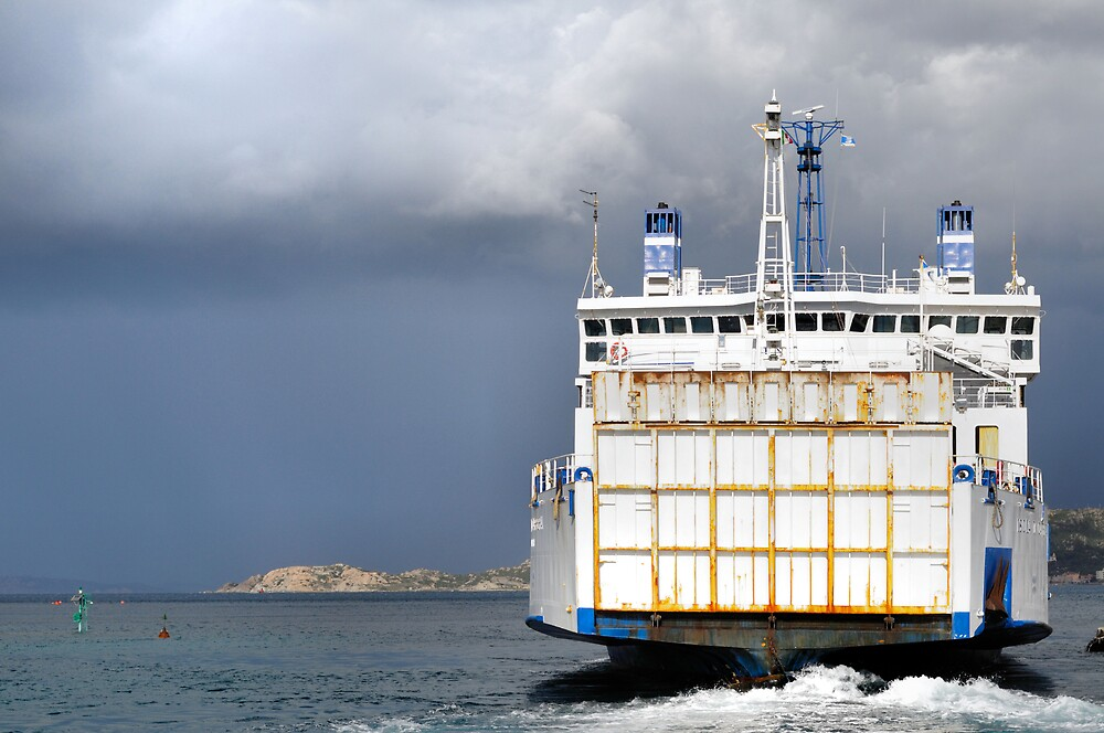ferry boat by lochef