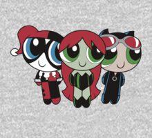 The Gothampuff Girls One Piece - Long Sleeve