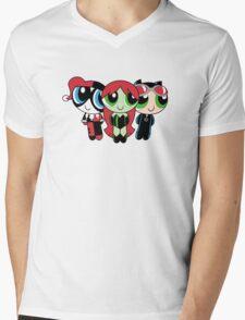 The Gothampuff Girls Mens V-Neck T-Shirt