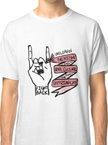 Fight Back! Classic T-Shirt