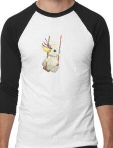 Pooky Swingin' Men's Baseball ¾ T-Shirt