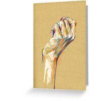 Hands V Greeting Card
