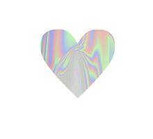Shiny Rainbow Heart by Jay's Designs
