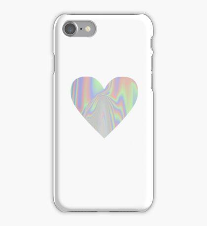 Shiny Rainbow Heart iPhone Case/Skin