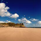 Sunny beach by Anthony Thomas