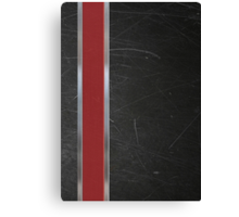 N7 Game Armour Canvas Print