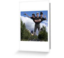 The Three of Us - Me, Myself and I Greeting Card