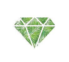 Palm Tree Diamond by Jay's Designs