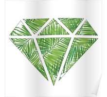 Palm Tree Diamond Poster