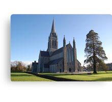 Killarney Cathedral Canvas Print