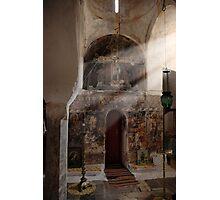 Greek Orthodox church interior Photographic Print