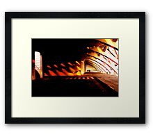 Valencia's City of Arts and Science 0213 Framed Print