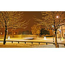 The Darkness of Light - Town Photographic Print