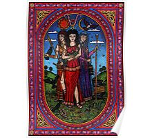 Maid to Crone, Morr'igan Isis and Hecate Poster