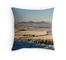 The Eildon Hills, Scottish Borders. Throw Pillow
