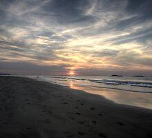 White Rocks Beach - Dusk - Portrush, Co. Antrim by Kieran Donnelly