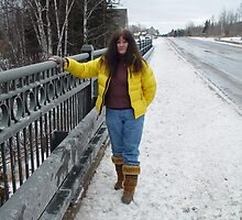 Just Left Grand Marais UP close to the Frence River by RealPainter