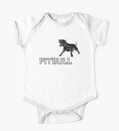 young pitbull One Piece - Short Sleeve