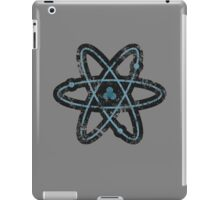 Distressed Atom iPad Case/Skin