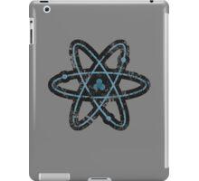 Distressed Atom iPad Case/Skin
