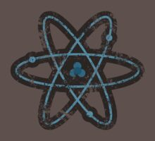 Distressed Atom T-Shirt