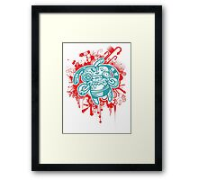 Trippy Floaters 5 Framed Print