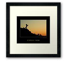 Capall Mor Framed Print