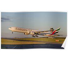 Emirates 777 Poster