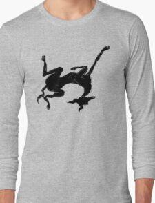 sleeping italian greyhound Long Sleeve T-Shirt