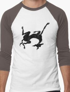 sleeping italian greyhound Men's Baseball ¾ T-Shirt