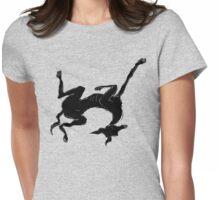 sleeping italian greyhound Womens Fitted T-Shirt