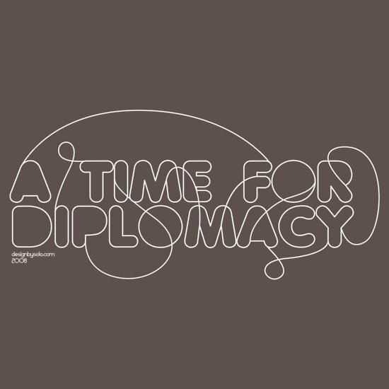 Typography: A Time For Diplomacy by DesignbySolo