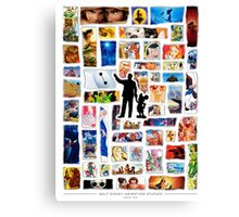 Walt Disney Animation Studios Canvas Print