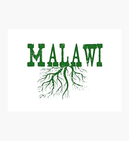 Malawi Roots Photographic Print
