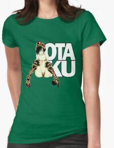 Otaku: Lovely Leopard Armor Womens Fitted T-Shirt